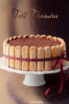Tiramisu Cake - The issue of Taste Sweet Recipes, Cake Recipes, Dessert Recipes, Cannoli, Food Cakes, Cupcake Cakes, Chocolates, Bakery Style Cake, Charlotte Cake