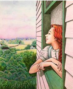 Cartoon Kunst, Cartoon Art, Illustrations, Illustration Art, Beautiful Girl Drawing, Scenery Paintings, Farm Art, Cute Art Styles, Anime Eyes
