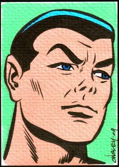 Namor SKETCH CARDS FOR SALE by PATRICK OWSLEY at Coroflot.com