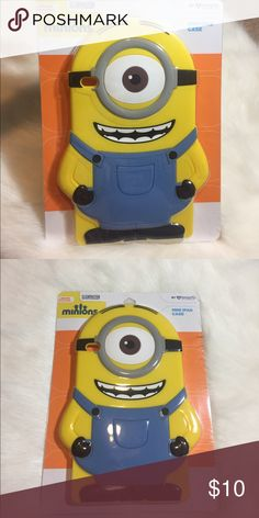 "Despicable Me Minions Mini IPad Case I have two Despicable Me Stuart Silicone iPad mini cases that are brand new.  7""L x 10 1/8""H Please check out my other listings! Thanks! Also available in my eBay store link in bio! Accessories Tablet Cases"
