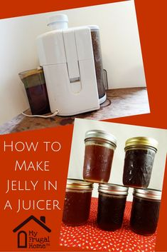How to Make Jelly in a Juicer -- here's a neat trick to cut down on the time and effort required to make jelly.