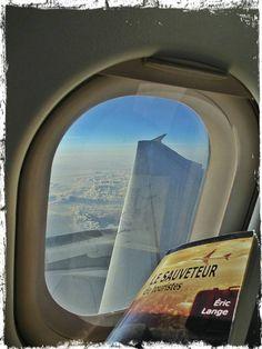 Le Sauveteur' dans l'avion pour Toulouse. Merci à Seb.