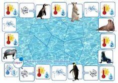 """"""" Sauvons les animaux """" est un jeu coopératif. Il va permettre aux enfants de mettre en place des stratégies coopératives pour faire une ..."""
