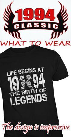 LIFE BEGINS AT 1994