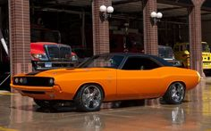 Stunning Dodge Challenger Convertible Custom. More hot muscle cars at: http://hot-cars.org