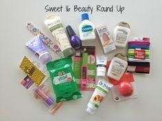 Sweet 16: Beauty Essentials for Teens