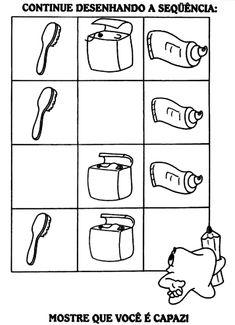 Pra Gente Miúda: Atividades variadas - higiene bucal