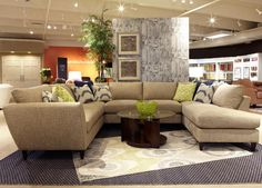 Tribeca 5 Pc Sectional Sofa with LAS Chaise by La-Z-Boy