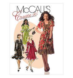 McCalls 5704, Misses' Dresses Knit