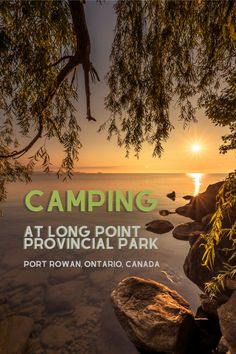 Camping at Long Point Provincial Park in Port Rowan, Ontario. Find out why this gorgeous, family-friendly Canadian campground has some of the best beaches we've ever seen, plus check out our advice on booking a site, what to expect from local wildlife, birding in Port Rowan, and where to eat nearby. #CampingInCanada #CampingInOntario #CampingLakeHuron #CampingLakeErie #CampingLakeOntario #BeachCampingOntario Ontario Travel, Toronto Travel, Canadian Travel, Road Trip Hacks, Beautiful Places To Visit, Travel Couple, Outdoor Travel, Adventure Travel, Travel Photos