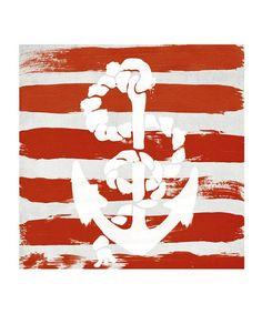 Look at this #zulilyfind! 'Anchored to the Ocean' Print #zulilyfinds