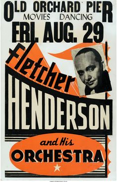 Fletcher Henderson Old Orchard Pier Concert Poster (circa | Lot #89180 | Heritage Auctions