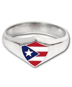 Puerto Rico Symbols | Puerto Rico Flag Ring