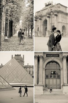 Paris engagement session with some of the best locations