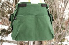 Canvas Tool Belt Sectional Apron with Detachable Cargo Pockets Hang Around, Black Apron, Tool Belt, Unisex, Black Canvas, Etsy, Pouch, Thing 1, Trending Outfits