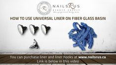 How to use universal liner on fiber glass basin