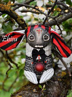 Пыльные кролики ,  чердачый заяц, большой выбор – купить или заказать в интернет-магазине на Ярмарке Мастеров | Малыш выполнен на проволочном каркасе , набит…