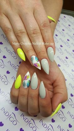 Top 150 ideas for yellow nail art designs reny styles simple diy, easy diy, Yellow Nails Design, Yellow Nail Art, Colorful Nail Designs, Nail Art Designs, Fancy Nails, Pretty Nails, Ongles Bling Bling, Nagel Blog, Hot Nails