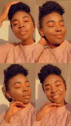 African Makeup, Natural Haircare, Makeup Ideas, Natural Hair Styles, Hair Care, Channel, Christian, Natural Hairstyles, Christians