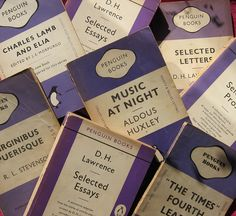 Purple Penguin books