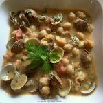 Zuppa di ceci e vongole #zuppa #ceci #vongole #food #ricette #binomioperfetto #gialloblogs #lericettedivillacatervo