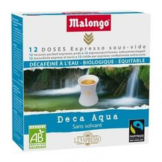 La tienda online gourmet y delicatessen Érase un gourmet tiene a la venta nuevos productos, como cajas de 12 monodosis de café descafeinado de forma natural al agua, aromático y fuerte, marca Malongo. Agricultura ecológica.