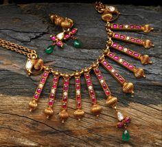 Ruby temple jewellery