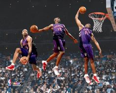 3 VIDEOS: Best Slam Dunk Contest Ever? Year 2000, Vince Carter!