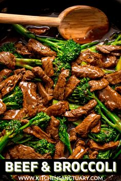 This Beef and Broccoli stir fry is ready in 20 minutes. Tender beef steak, stir fried with broccoli and a heavenly Chinese-style stir fry sauce. Simple, quick and delicious! #beefandbroccoli #beefstirfry Beef And Broccoli Sauce, Beef And Brocolli, Beef Broccoli Stir Fry, Chinese Beef And Broccoli, Broccoli Recipes, Fried Broccoli, Beef Marinade, Beef Steak, Pork