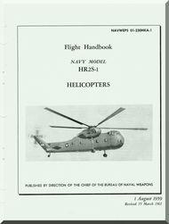 Sikorsky  HR2S-1 Helicopter Flight  Handbook AN 01-230HKA-1