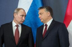 Russian President Vladimir Putin and Hungarian Prime Minister Viktor Orban cemented closer ties at talks Thursday, amid growing EU rifts over sanctions against Moscow because of its meddling in Ukraine.  The Budapest meeting with the right-wing Orban -- who wants the European Union to lift its punitive