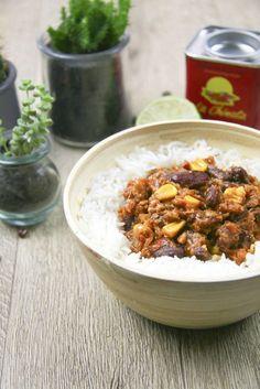 Chili sin carne aux protéines de soja texturées Recette végétalienne, sans gluten