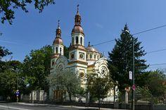 Biserica ortodoxă Sf. Ilie (1912-1913),  strada Andrei Șaguna, Timișoara; arhitecți Mihai Opriş şi Ion Niga