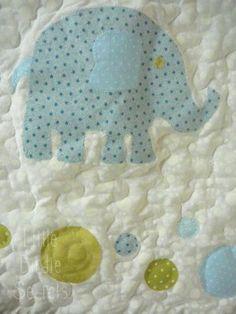DIY Elephant Applique Tutorial + free pattern