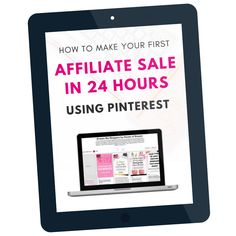 ready to MAKE YOUR FIRST AFFILIATE SALE IN 24 HOURS?   Whether you're brand new to affiliate marketing or have been doing it a while, this ebook will help you to speed up your sales within hours! Literally. Sure, you could go about your strategy the slow way by relying on people to first find your blog, read the blog post you promote your affiliate links in,Read More »