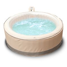 mspa 4 person 118 jet inflatable bubble spa u0026 reviews wayfair - Wayfair Hot Tub