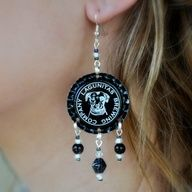 bottle cap jewelry ideas - Google Search