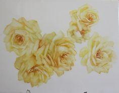 Yellow Roses Step by Step | ARTchat - Porcelain Art Plus (formerly Chatty Teachers & Artists)