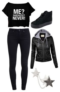 """Collab with danisnotonfire"" by misshisscat ❤ liked on Polyvore"