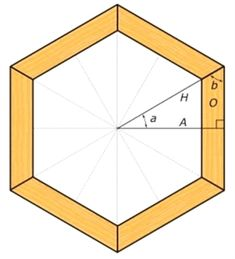 One of the more difficult but often used tools in a woodworker's toolkit is polygon and angle calculation, so it's key to understand early. #WoodworkingTips