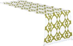 Madelyn Ikat Design Ribbed Table Runner