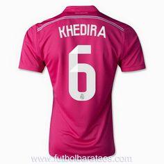 Nueva camiseta de Khedira 2nd Real Madrid 2015 baratas