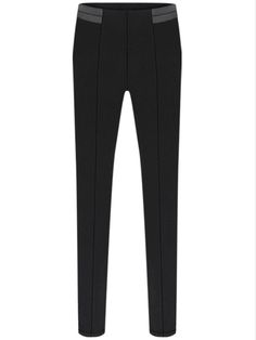 Pantalones combinado polipiel-negro 14.56