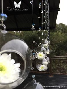Distinct Weddings - Lerato & Vumisa 04.09.2015 - hanging decor, suspended decor, hanging glass vasesDistinct Weddings - L&V007a - hanging decor