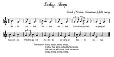 Beth's Music Notes: Native American Songs