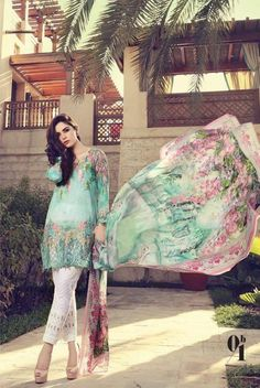 Maria B Lawn collection 2017 Full Catalog With Price, will present her new collection in March. wait is over now all the dresses are high quality and. Pakistani Fashion Casual, Pakistani Outfits, Asian Fashion, Indian Outfits, Look Fashion, Simple Pakistani Dresses, Pakistani Clothing, Fashion Spring, Fashion 2017