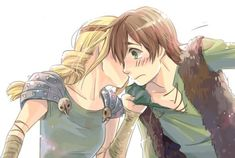 Anime hiccup and Astrid Hiccup And Toothless, Hiccup And Astrid, Httyd, Dreamworks Dragons, Dreamworks Animation, Disney And Dreamworks, Animation Films, Disney Movies To Watch, In And Out Movie