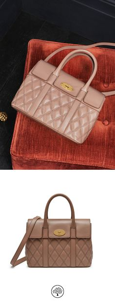 05eb99c535 Shop the Small Bayswater in Dark Blush Quilted Smooth Calf Leather at  Mulberry.com.