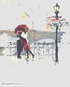 Gallery.ru / Фото #3 - Поцелуй под дождем (закрыт) - draganka