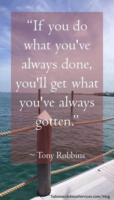 quote by Tony Robbins Inspiring #quotes and #affirmations